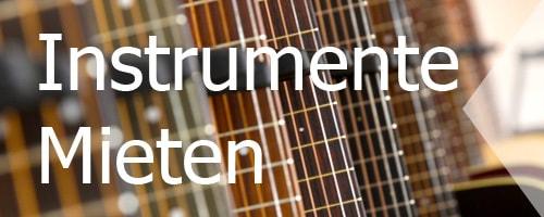 Instrumente mieten