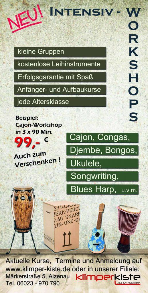 Workshops und AG 1